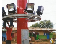 320 Watts LED Flood Lights Installed in Africa Successfully