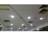 LED Downlight project in Bosnia and Herzegovina